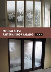 エッチングガラス カタログ PATTERNS DOOR vol.2