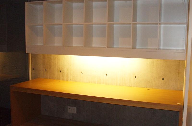 東京都某プロジェクト 収納棚