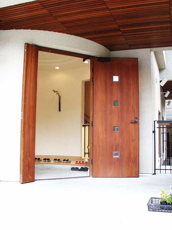 浜田山展示場 玄関ドア