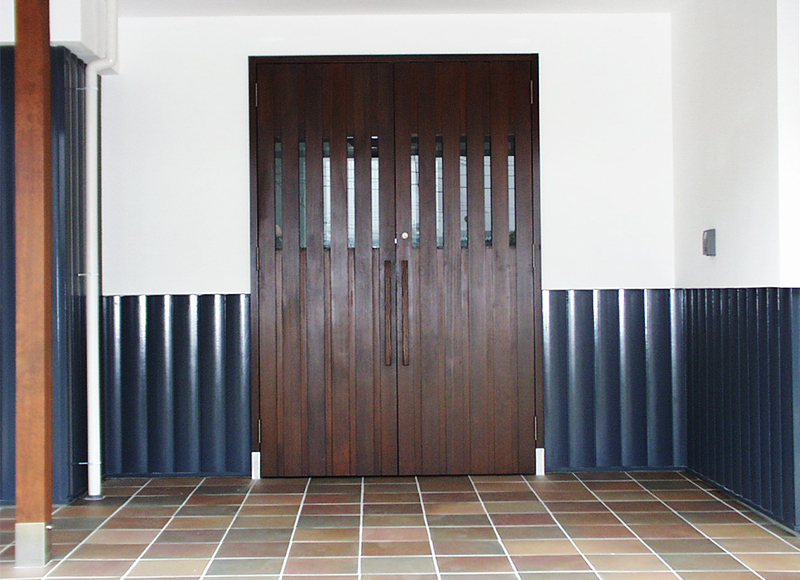 大宮展示場 玄関ドア
