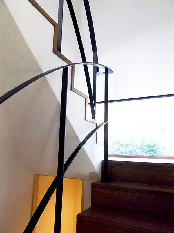 スチール階段・手すり2