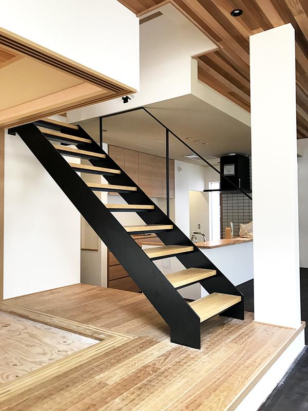 スチール階段・手すり3