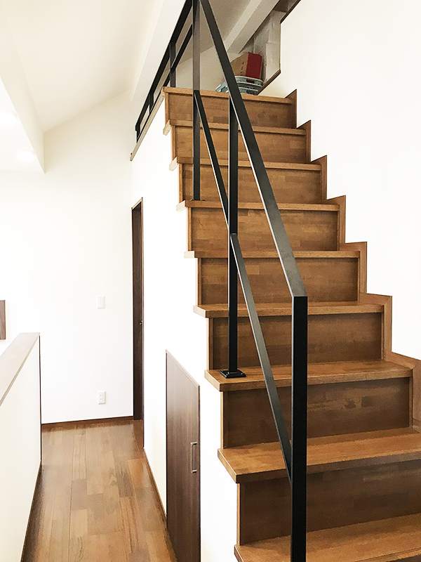 スチール階段・手すり4