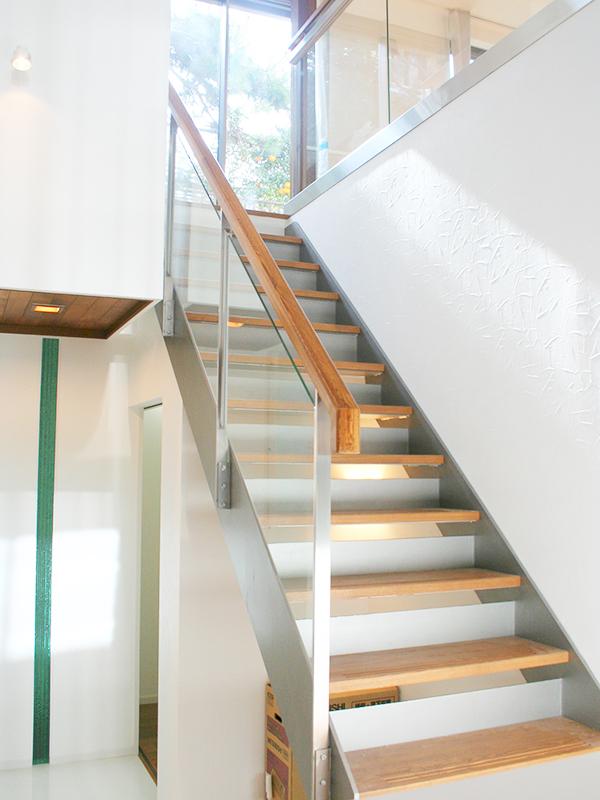 スチール階段・手すり5