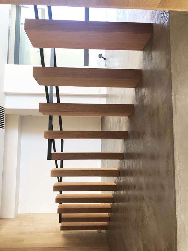 スチール階段・手すり6