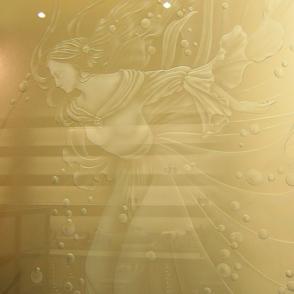 エッチング京都美容室