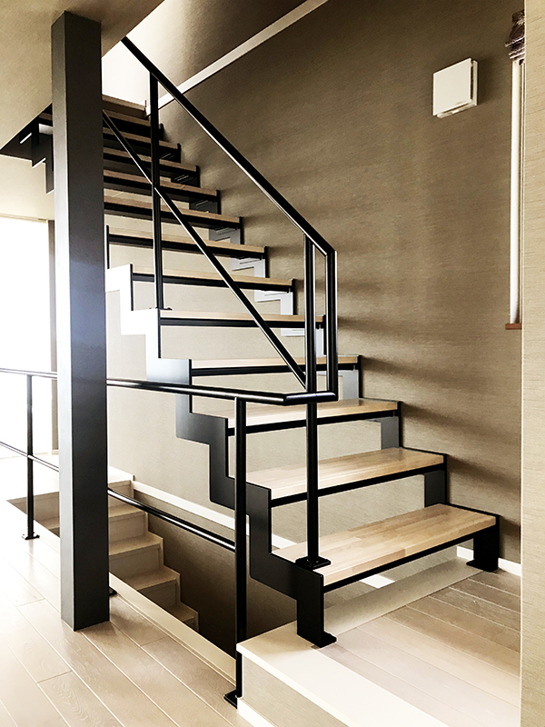 スチール 階段・手すり 8